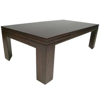 Edward Wormley Expandable Coffee Table