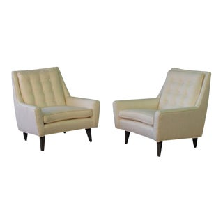 1950's Mid-Century Modern Lounge Chairs - A Pair