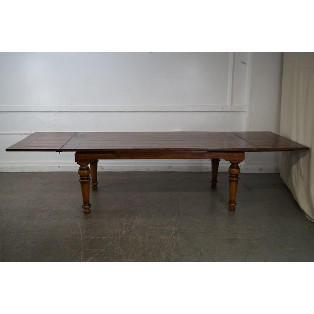 Image of Rustic Farmhouse Style Refractory Dining Table