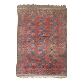 "Vintage Ersari Carpet - 7'10"" x 11'6"""