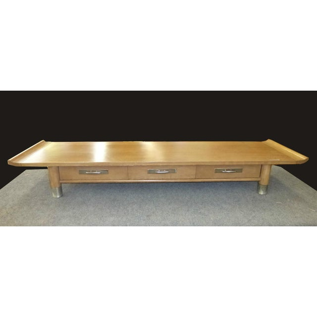 Vintage Asian Low Profile Altar Coffee Table