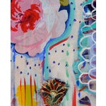 """Image of """"Dreams"""" Acrylic and Mixed Media on Canvas"""