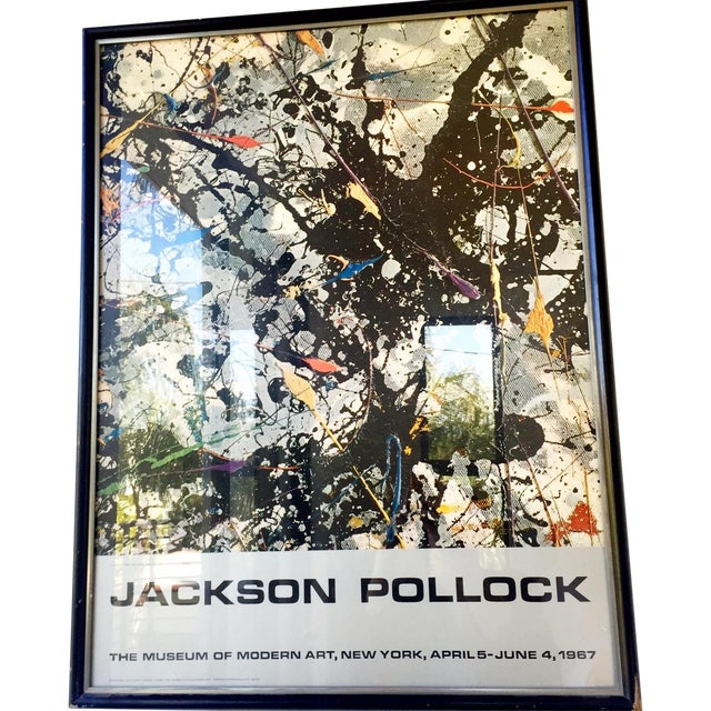 Jackson Pollock Moma Exhibition Poster - Image 1 of 4