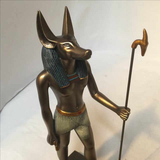 Egyptian Bronze Resin Sculpture - Image 8 of 8