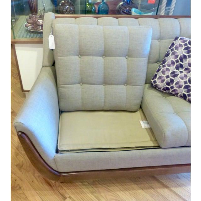 Image of Bassett Mid Century Persall Style Sleeper Sofa
