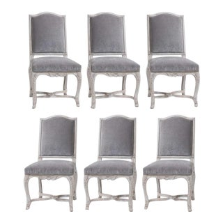 18th Century Italian Dining Chairs - Set of 6