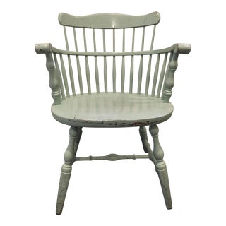 Seafoam Green Painted Chair