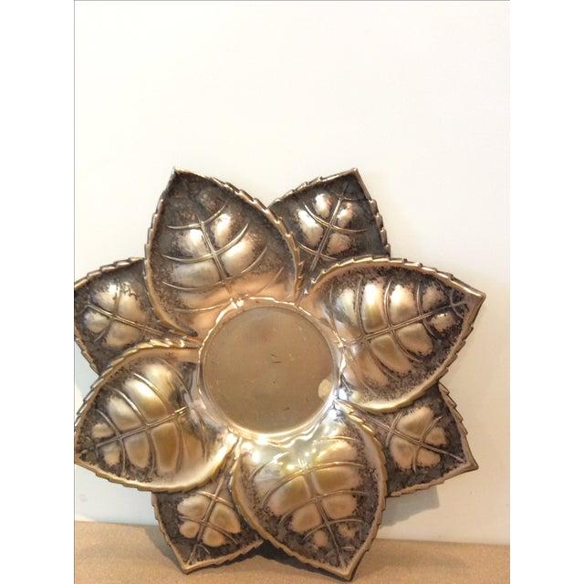 Metal Floral Candle Holder - Image 5 of 6