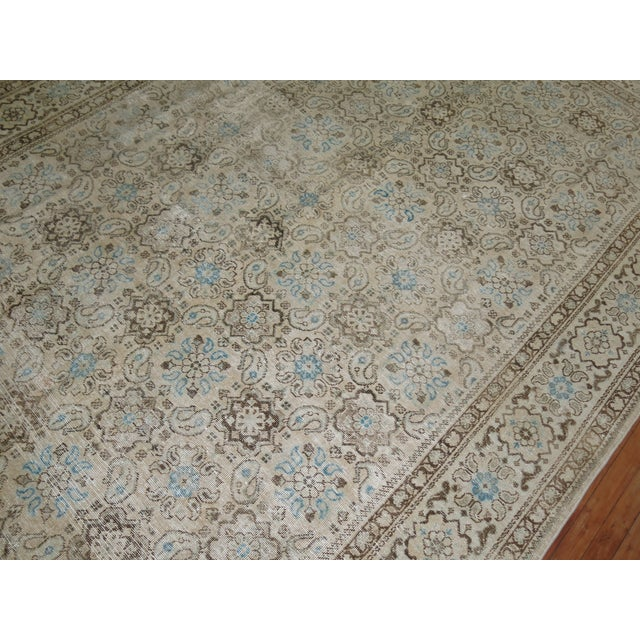 Vintage Shabby Chic Persian Malayer Rug, 8'1'' x 11'8'' - Image 3 of 9