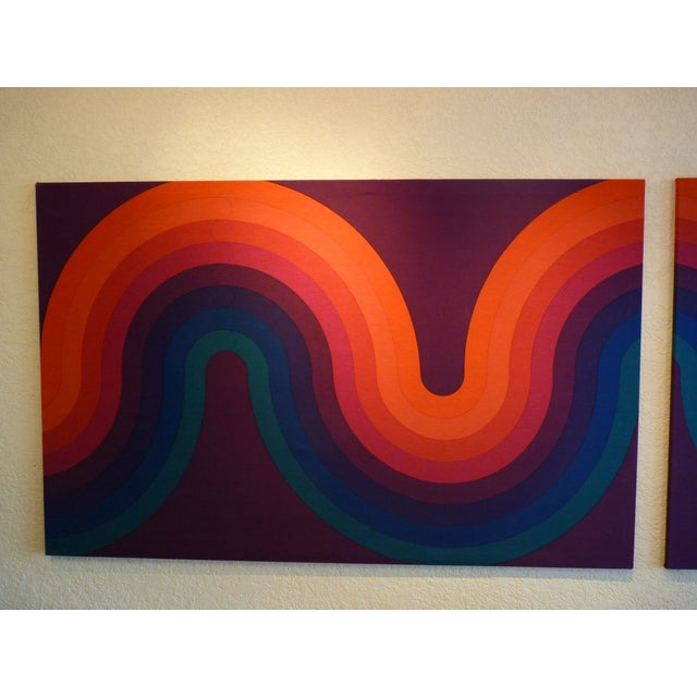 Image of Verner Panton Large Panels - Pair