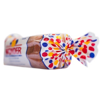 Wonder Bread on Its Side Facing Left