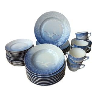 Bing & Grondahl China Seagull Dinnerware - Set of 48