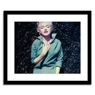 """Marilyn Monroe in a Green Dress"" by Baron"
