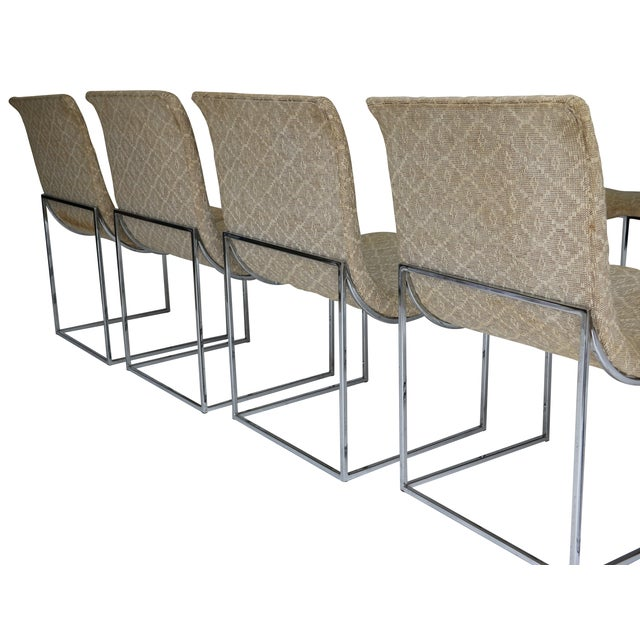 Image of Milo Baughman Dining Chairs - Set of 6