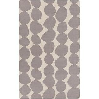 Lotta Jansdotter Gray Wool Rug- 5' X 8'
