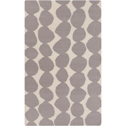 Image of Lotta Jansdotter Gray Wool Rug- 5' X 8'