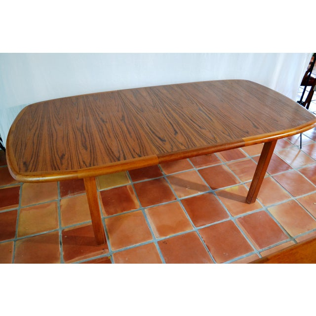 Image of Diethelm Scanstyle Mid-Century Teak Dining Table