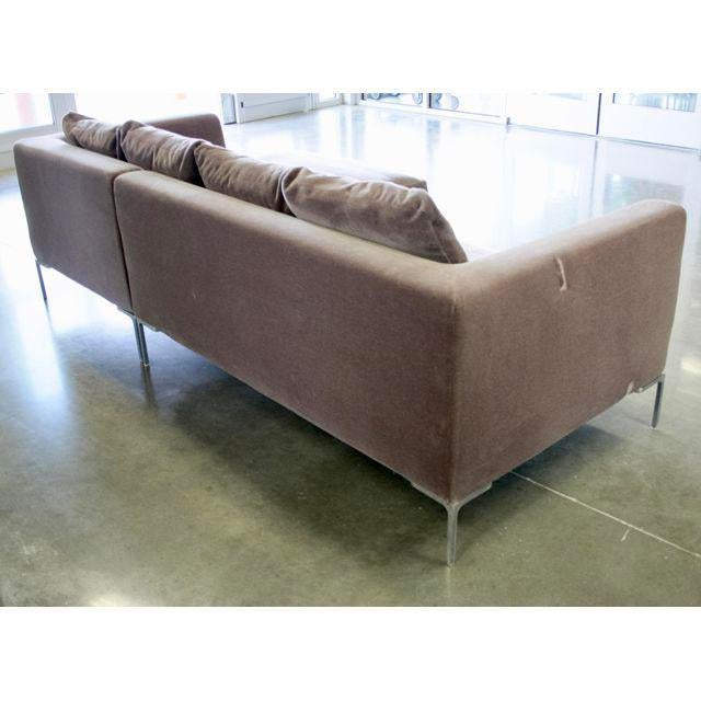 Charles Sofa by Antonio Citterio for B&b Italia in Mohair - Image 9 of 10
