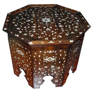 Mother-of-Pearl Moorish Coffee Table