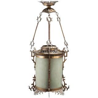 Art Nouveau Period Lantern
