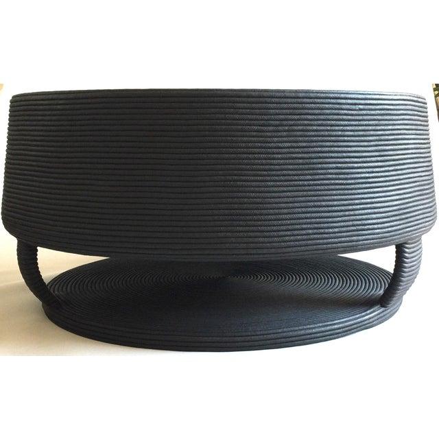 Afritamu Christian Astuguevielle Black Rope Coffee Table - Image 3 of 5