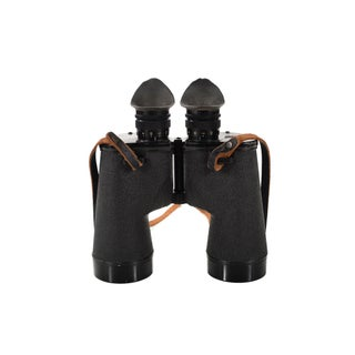 Bausch & Lomb 7x50 Wwii Military Binoculars & Case