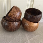 Image of Coconut Cocktail Cups - Set of 4