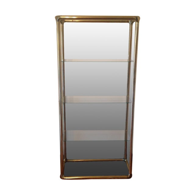 Brass Etagere in the Manner of John Widdicomb - Image 1 of 9