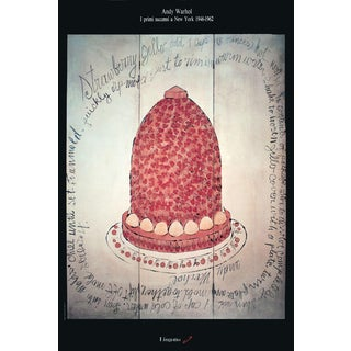 Andy Warhol Strawberry Jello Poster