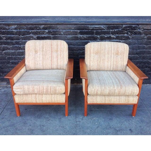 Mid-Century Danish Teak Danish Chairs - A Pair - Image 2 of 7