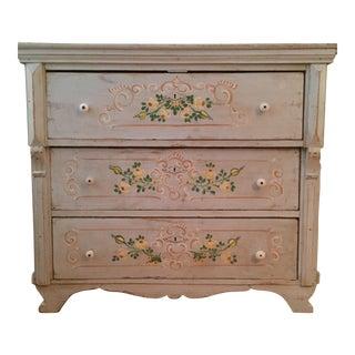 Vintage Hand-Painted Dresser