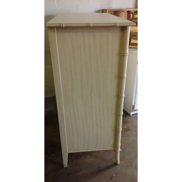Image of Faux Bamboo Chest of Drawers by Thomasville