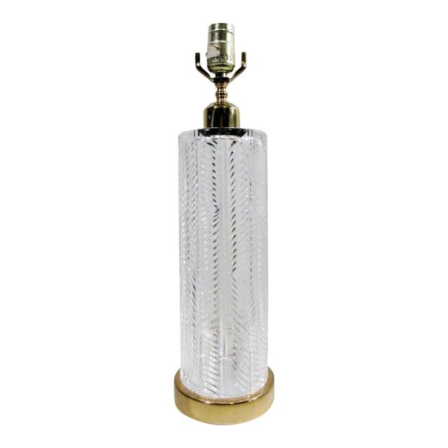 Vintage Waterford Irish Cut Crystal Table Lamp - Image 1 of 9