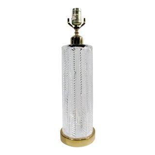 Vintage Waterford Irish Cut Crystal Table Lamp