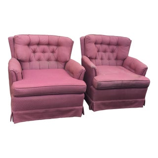 Vintage Swivel Chairs - Pair