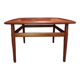 Grete Jalk Danish Modern Teak Square Coffee Table