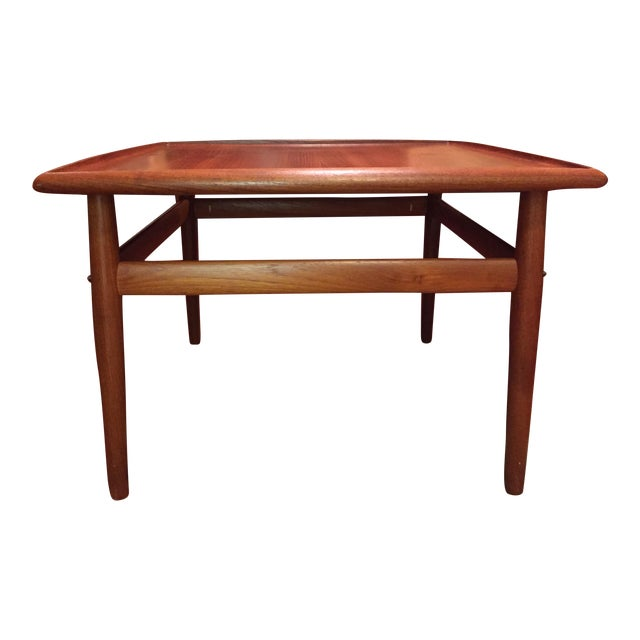 Grete Jalk Danish Modern Teak Square Coffee Table Chairish