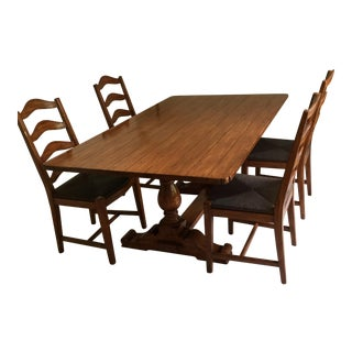 Bausman & Company Country English Dining Set