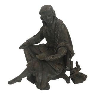 Vintage Classical Male Sculpture