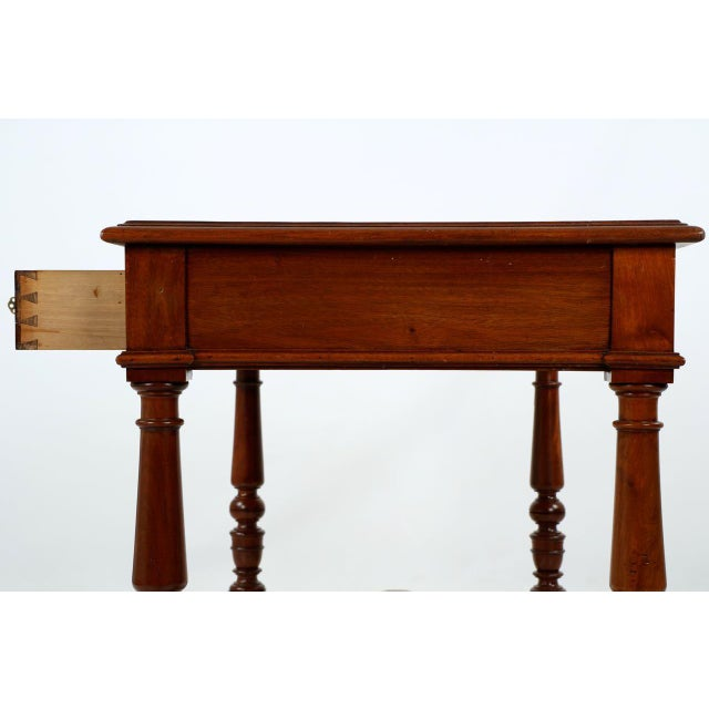 English Mahogany Writing Desk - Image 10 of 11