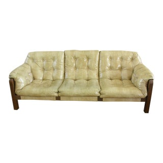 Mid-Century Modern Percival Lafer-Style Sling Sofa