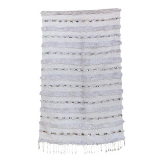 "Vintage Handira Wedding Blanket - 3'7"" x 5'8"""