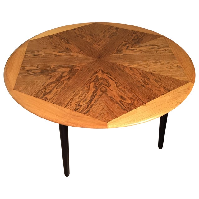 Mid Century Modern Coffee Game Table Chairish