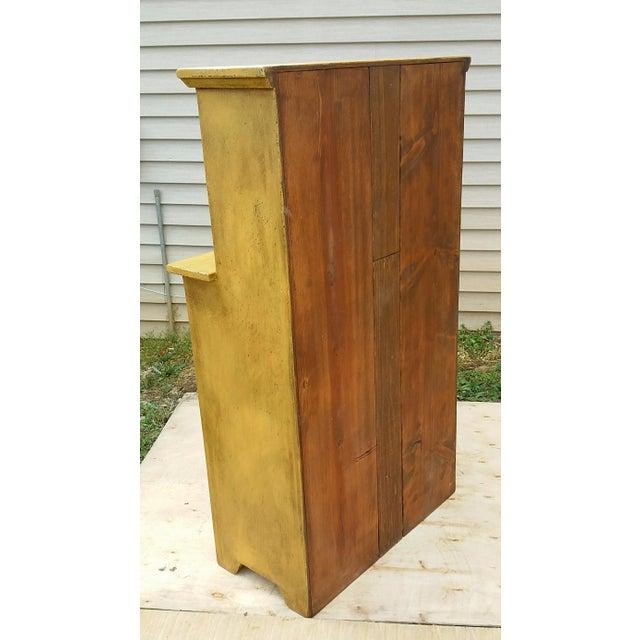 Handmade Yellow Apothecary Cupboard - Image 5 of 10