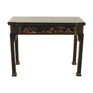 Convertible Chinoiserie Desk And Dining Table