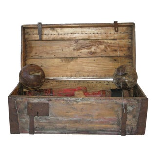 Antique Bowling Set