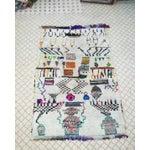Image of Vintage Azilal Wool Moroccan Rug - 5″ × 7″