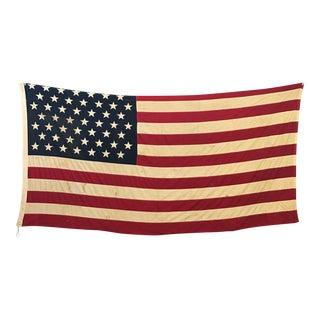 Large 49 Star Distressed Flag 5' X 9'