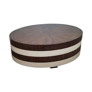 Ej Victor Rotating Rosewood Coffee Table