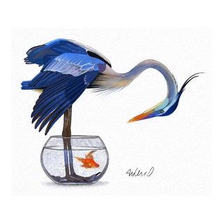 Premium Giclee Print of Heron Solution
